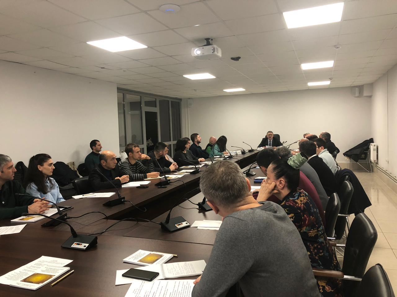 22 ноября 2019 года Центром поддержки экспорта был организован и  проведен круглый стол на тему «Анализ товарных рынков для экспорта (в том числе рынка зерна), влияние менталитета на предпринимательскую деятельность в Иране и странах Закавказья».