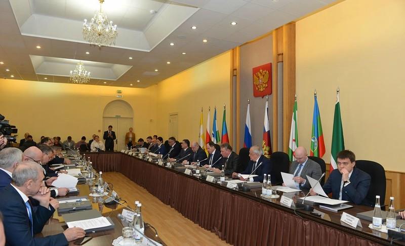 Вячеслав Битаров принял участие в заседании коллегии Министерства РФ по делам Северного Кавказа в г. Ессентуки