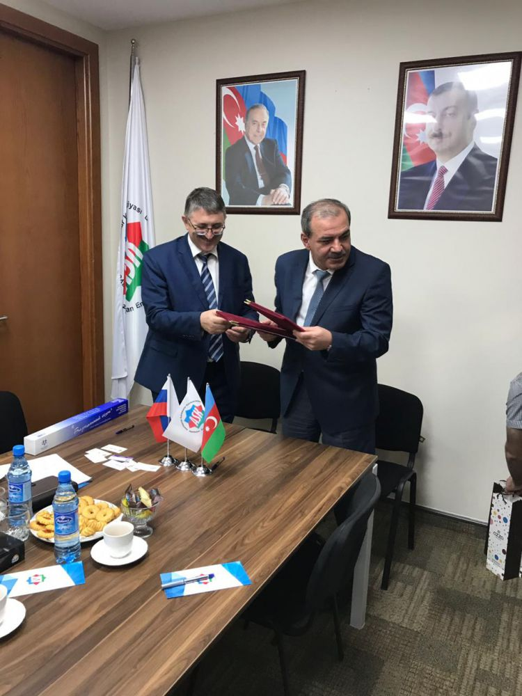Отчет о проведенной бизнес-миссии в Азербайджанскую Республику  27-28 августа 2019 года
