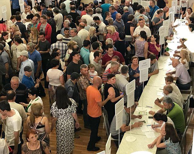 Состоялась общереспубликанская ярмарка вакансий, для бывших сотрудников ПАО «Электроцинк» и всех граждан, желающих найти работу.