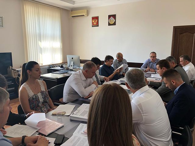 30 июля 2019 года под председательством Министра экономического развития Казбека Томаева