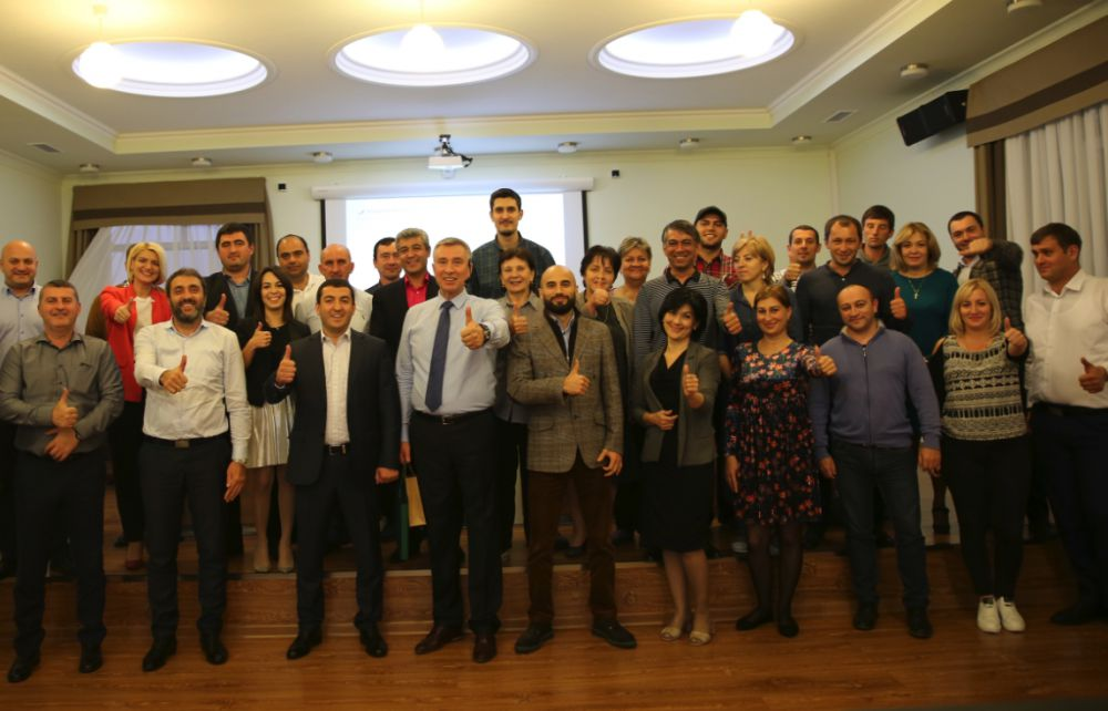 Ведущий бизнес-практик Владимир Моженков провел авторский мастер-класс для руководителей «Баварии»