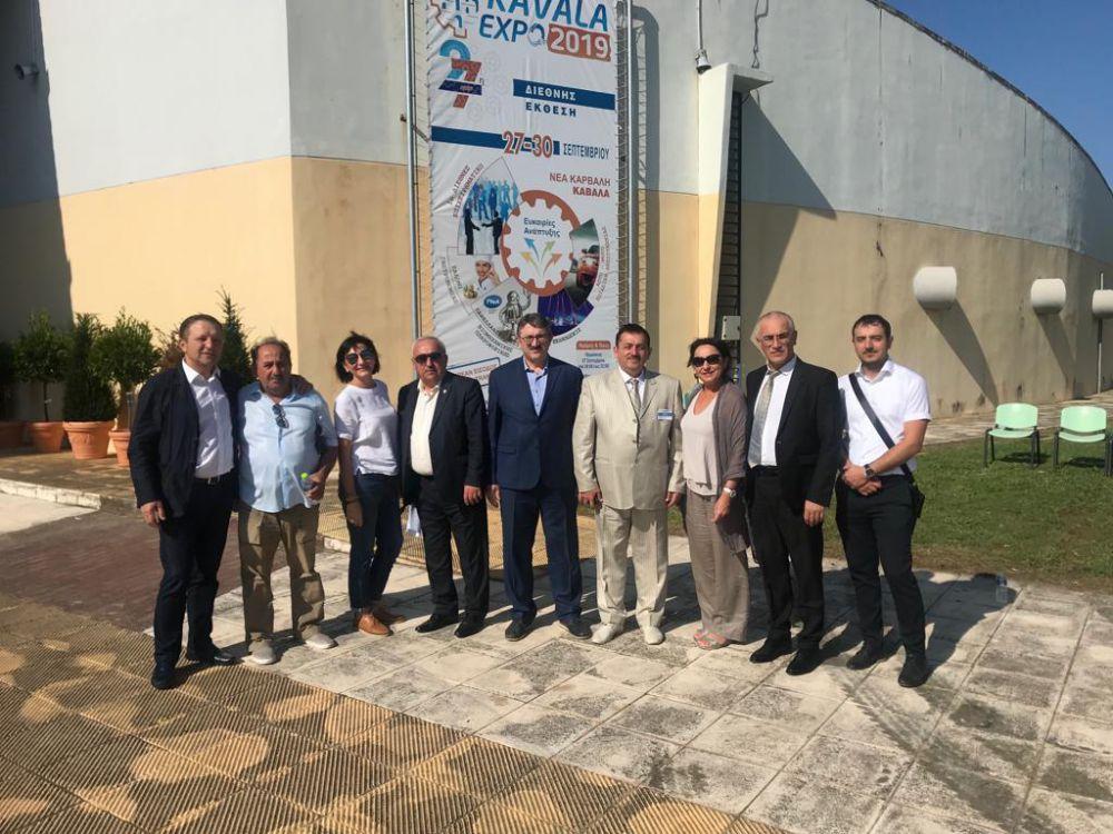 28 сентября 2019 года в Греческой Республике стартовал первый день бизнес-миссии североосетинских экспортеров.