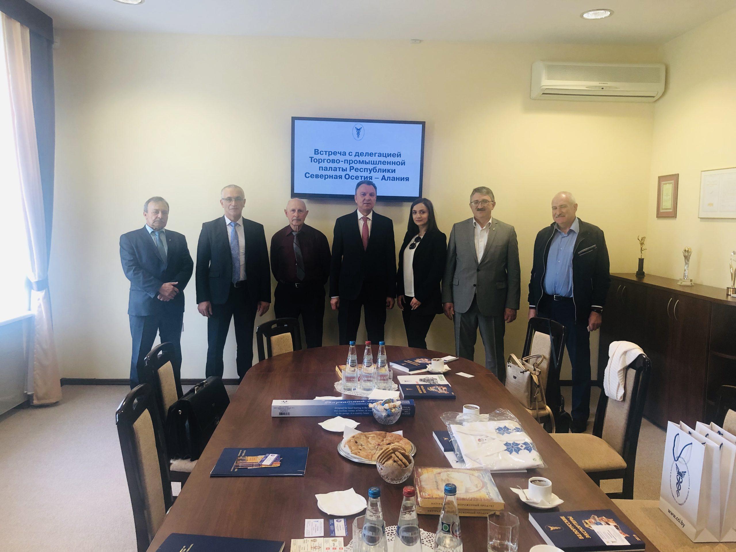 28 мая 2019 года делегация из Республики Северная Осетия-Алания прибыла с бизнес-миссией в Республику Беларусь, г. Минск.