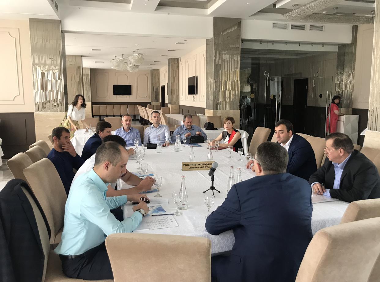 Сегодня в банкет-холле гостиницы «Владикавказ» прошло празднование Дня российского предпринимательства
