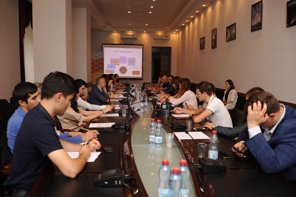 Предприниматели Северной Осетии приняли участие в круглом столе «Корпоративная социальная ответственность бизнеса».