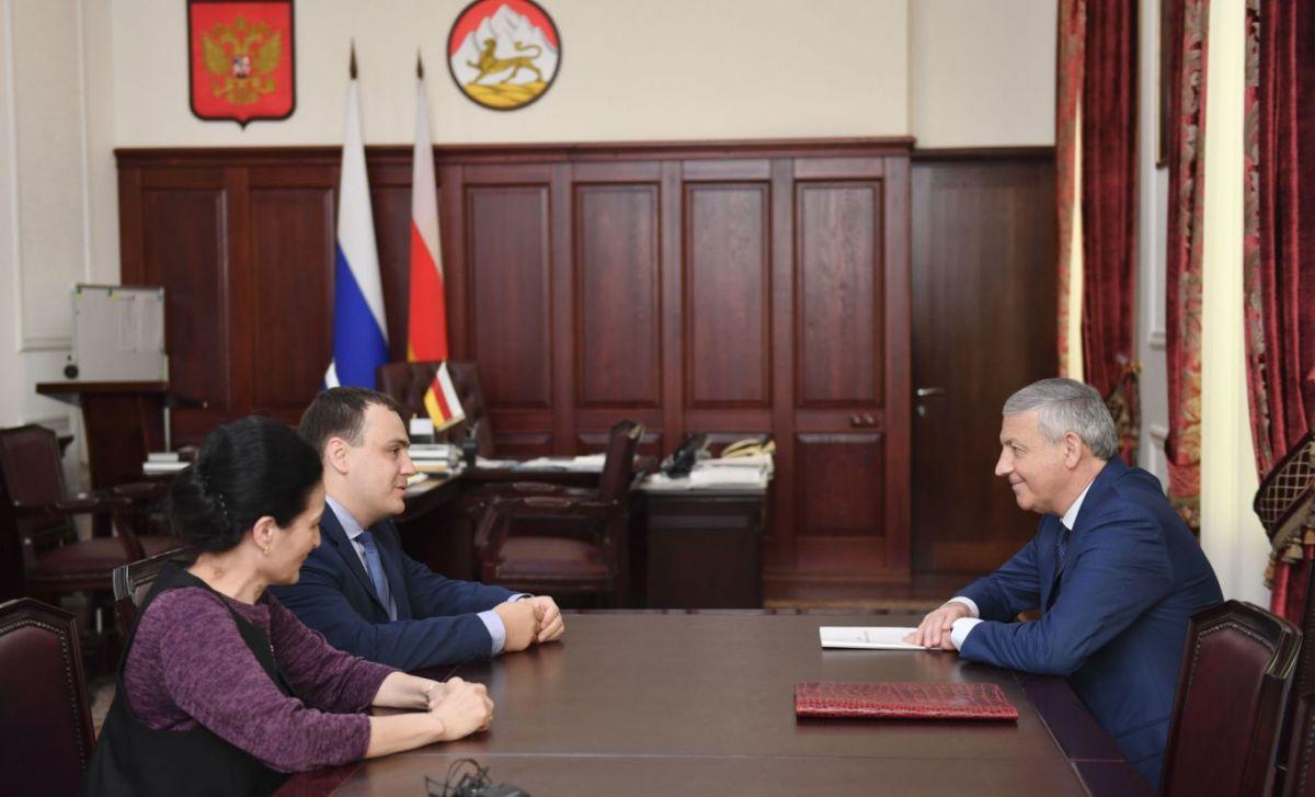 Глава Северной Осетии встретился с заместителем министра экономического развития РФ