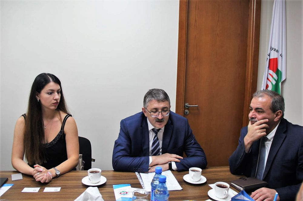 Делегация из РСО-Алания посетила Национальную конфедерацию предпринимателей Азербайджанской Республики