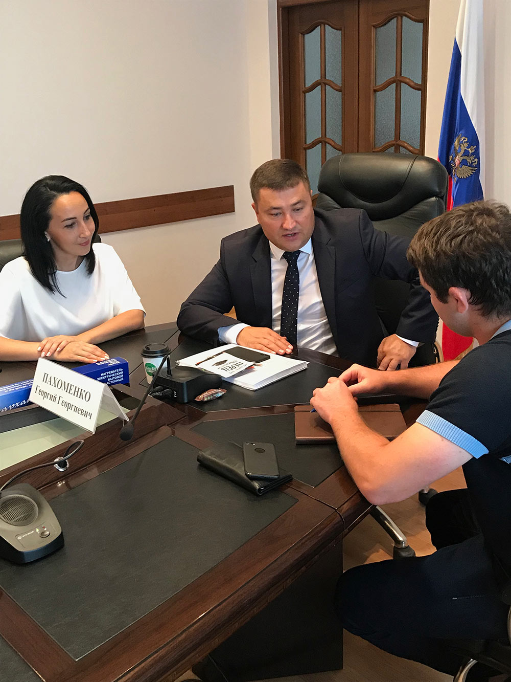 Во Владикавказе состоялась рабочая встреча представителей федеральной торговой сети «Пятерочка» с местными товаропроизводителями