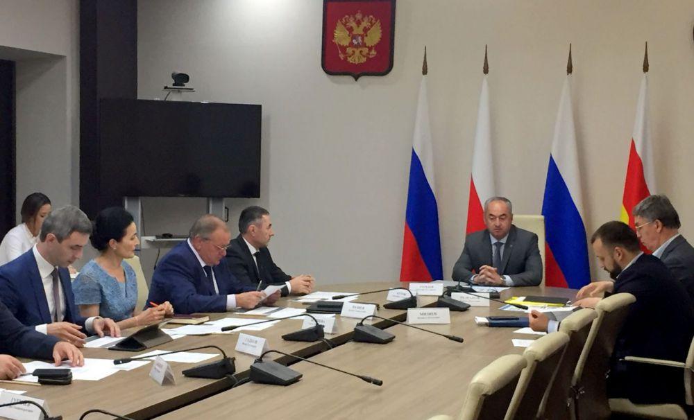 В Северной Осетии обсудили реализацию инвестиционных проектов, вошедших в госпрограмму развития СКФО