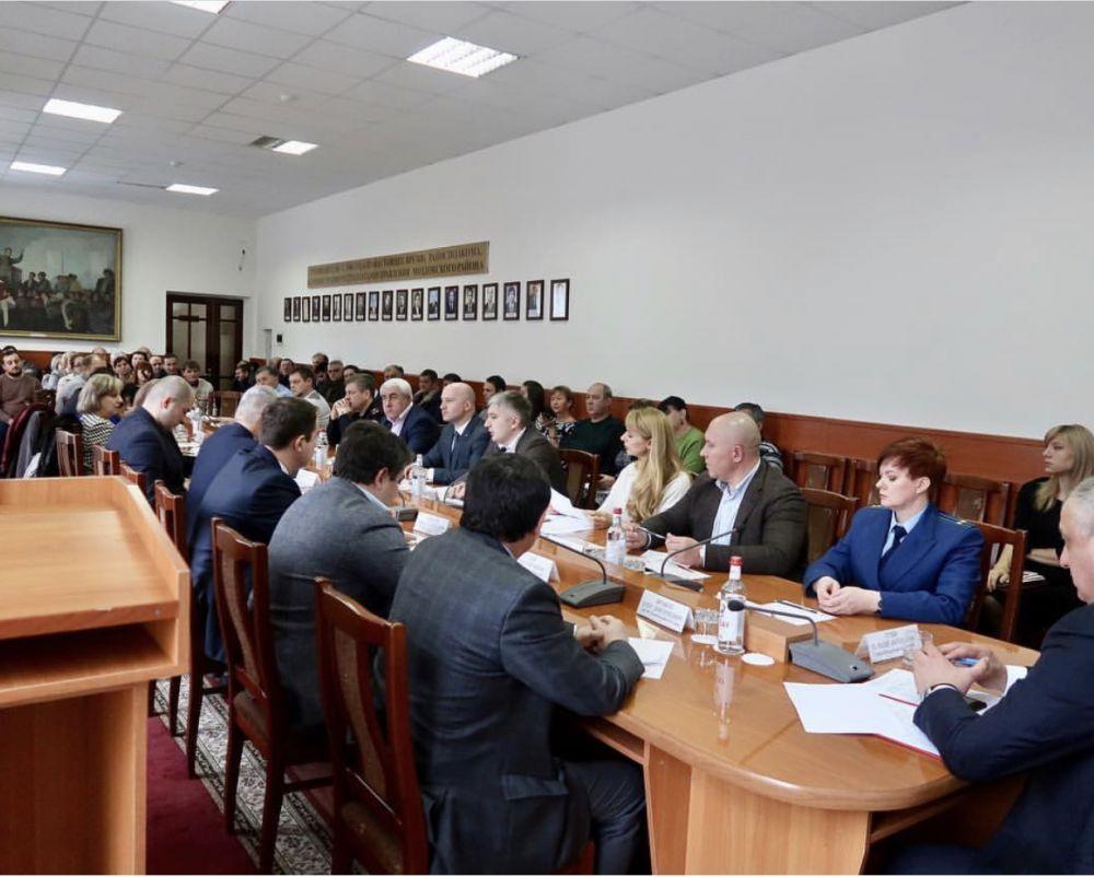 24 января 2019 г. состоялся Совет по предпринимательству при Главе МО Моздокский район Г.Гугиеве.