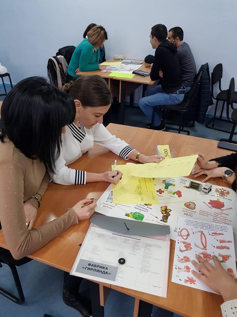 Предприниматели приняли участие в деловой игре на тему:  «Community: технологии бизнес-кооперации и социальных коммуникаций».