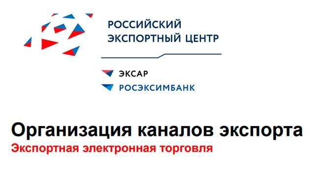 Предлагаем ознакомиться с презентацией по экспортной электронной торговле.