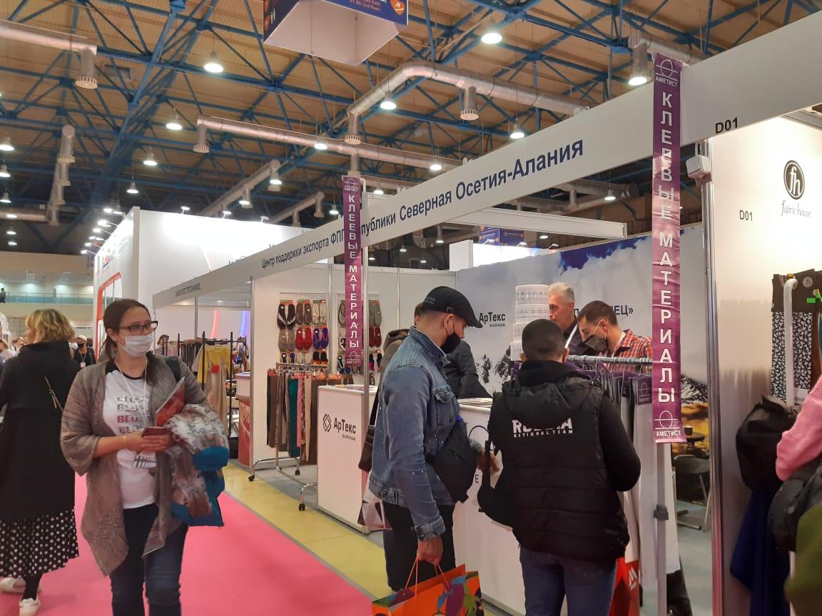 Cтартовала Международная выставка «Интерткань 2020