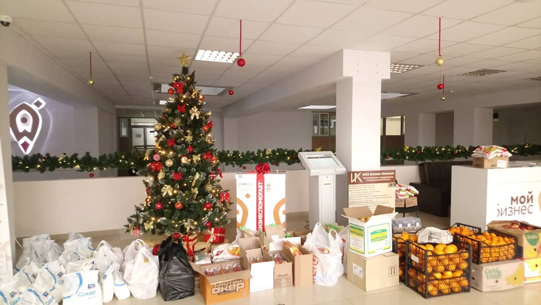 Благотворительная акция #МойбизнесПомогает стартовала в Северной Осетии